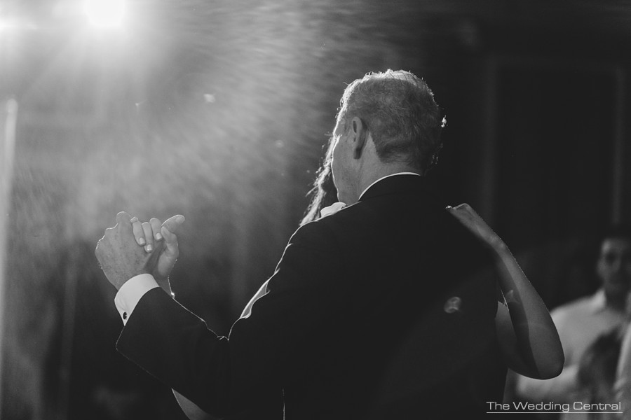 candid wedding photography in new jersey - bride and dad first dance during reception