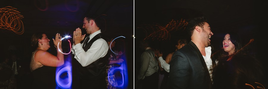 candid wedding photography in new jersey - family and guests dancing and having fun during reception