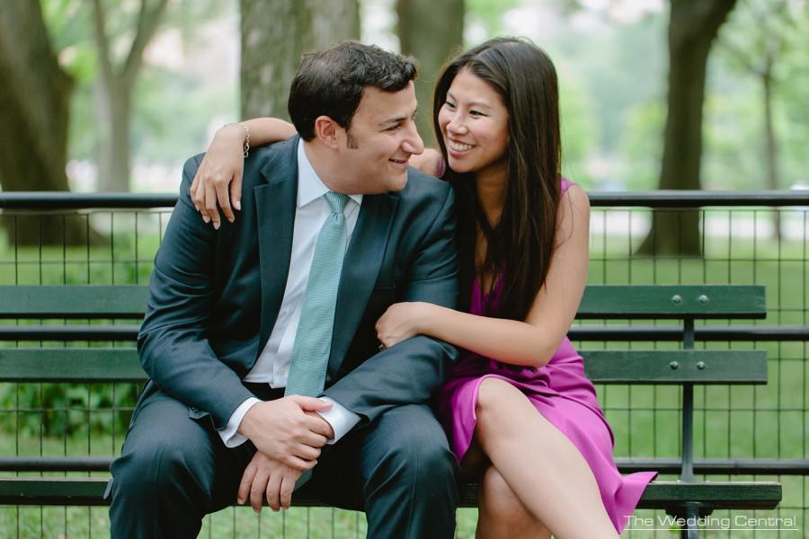 New york wedding photographer - central park engagement photographer
