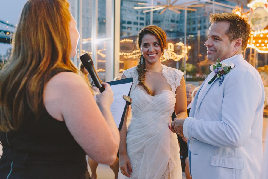New York elopement. Brooklyn Jane's carousel wedding - Brooklyn Wedding Photography