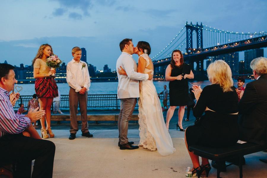 Brooklyn wedding photos - Jane's carousel elopement wedding photos