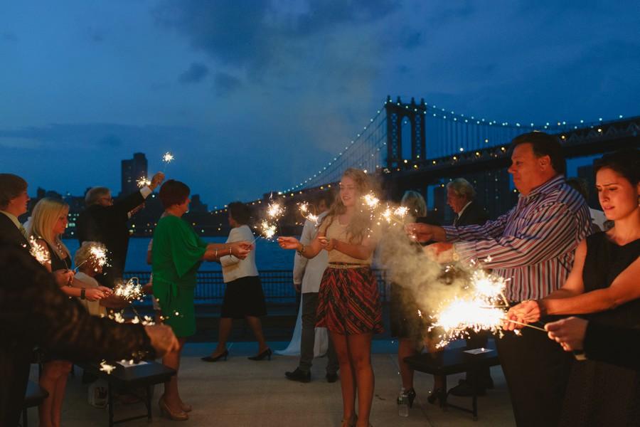 night Brooklyn wedding photography - sparkles Jane's carousel elopement wedding photos