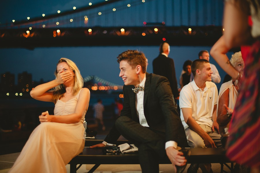 Brooklyn candid wedding photos - Jane's carousel elopement wedding photos