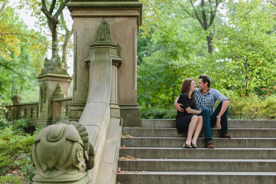 central park engagement photography - nyc engagement photos