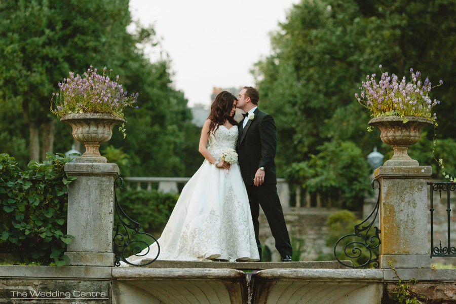 new jersey wedding photographer - botanical gardens wedding photos