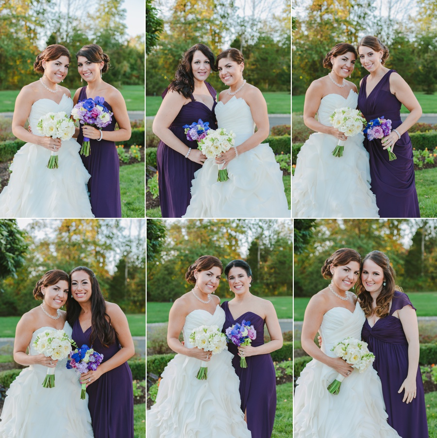 The Palace at Somerset Park bridal party pictures - New Jersey wedding photographer