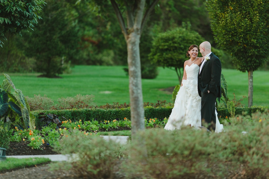 The Palace at Somerset Park candid bridal portraits - New Jersey wedding photographer
