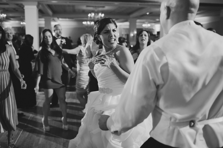 The Palace wedding reception party  - New Jersey wedding photographer