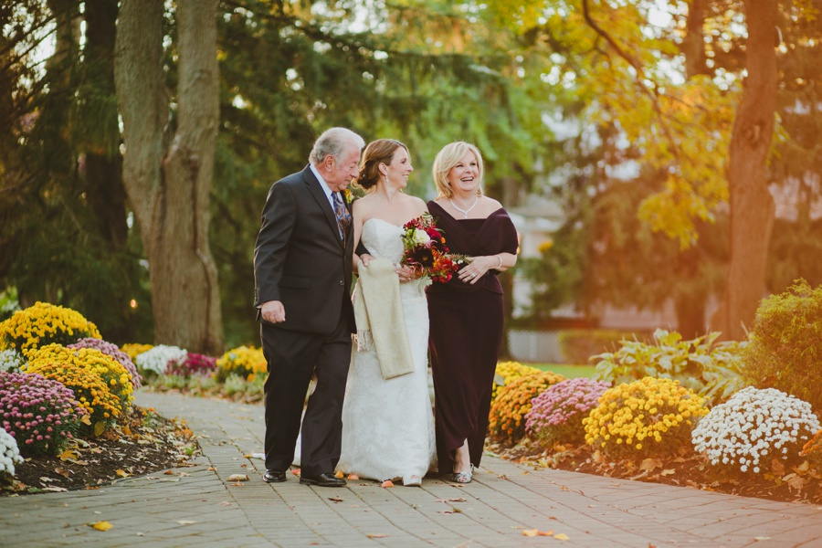 Romantic fall wedding in New Jersey - The Mansion at Bretton Woods wedding photos