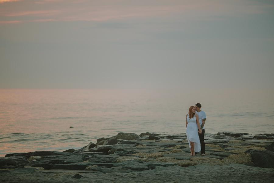 Jersey Shore wedding photographers - Asbury Park Engagement Photos