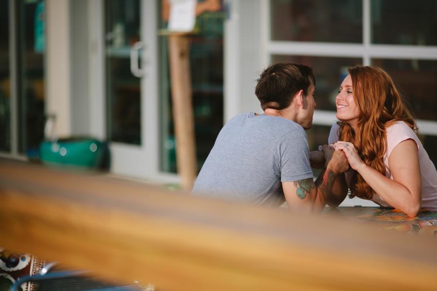 Asbury Park Engagement photos - contemporary engagement photos