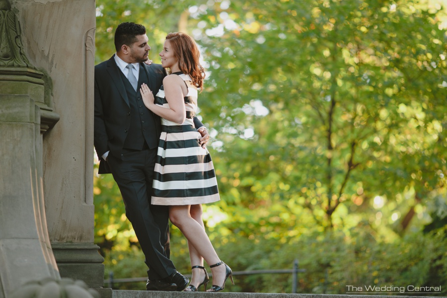 Central Park Engagement Pictures - The Wedding Central