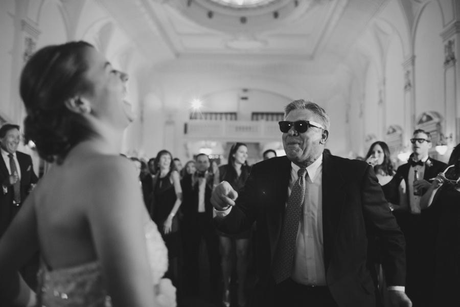 fun wedding reception pictures - Bourne Mansion wedding photos - New York Wedding Photography