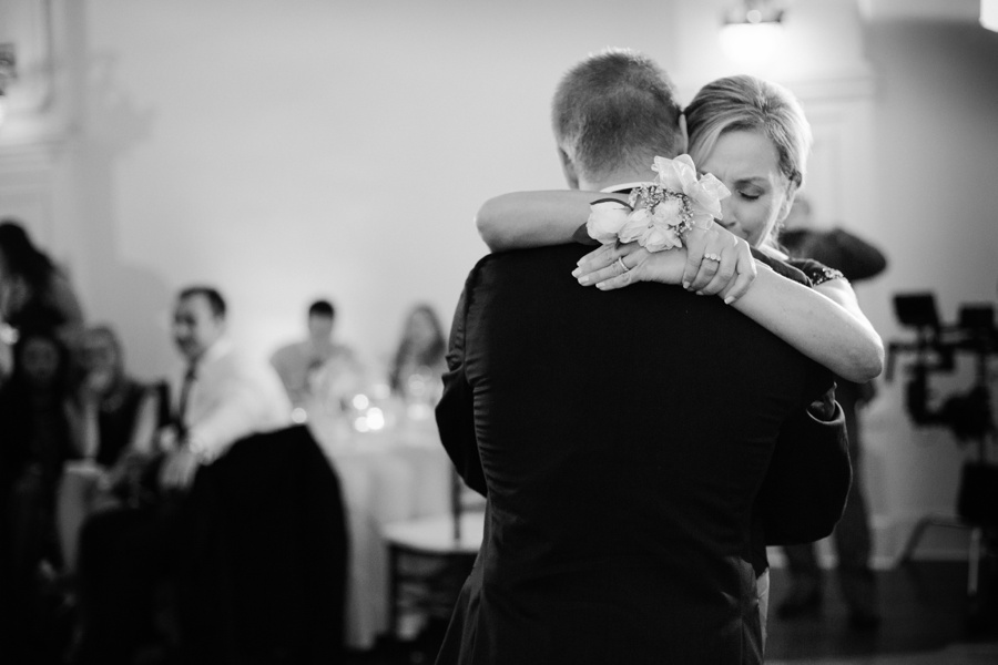 Groom and mother dancing wedding picture at Bourne Mansion  - New York Wedding Photographers