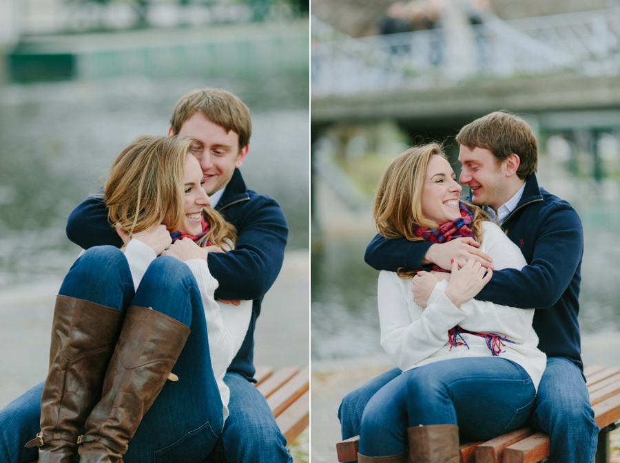 Romantic urban engagement photos in Boston - Boston engagement photos