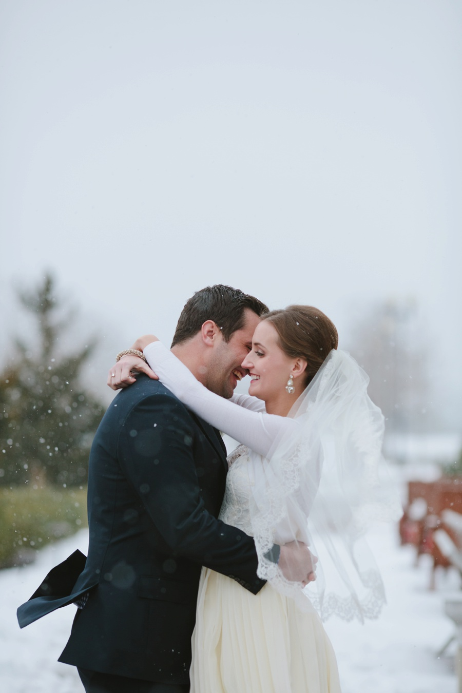 Liberty House wedding - Winter Wedding Photos