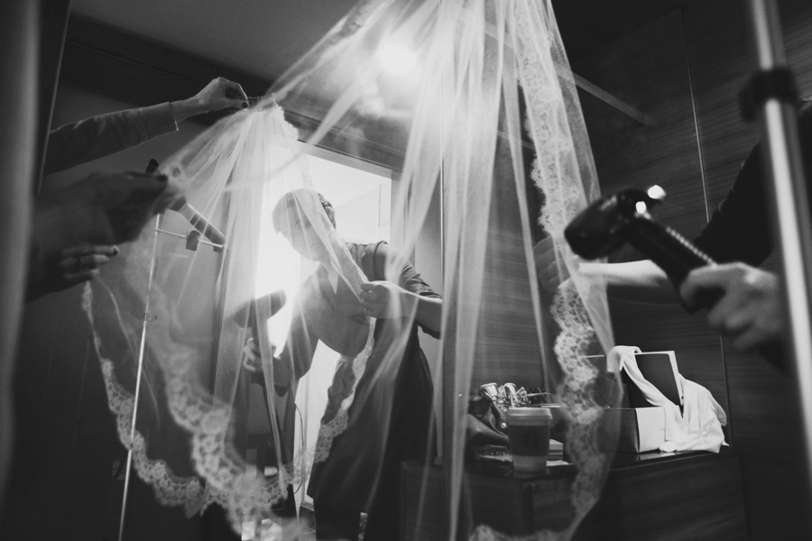 Getting ready - Documentary wedding photography in New Jersey