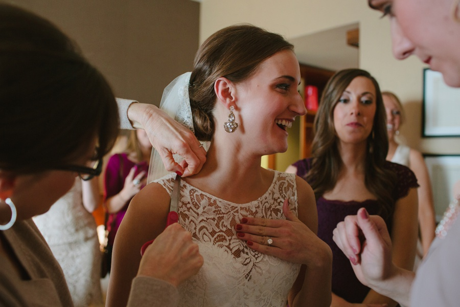 Bride getting ready - Photojournalistic wedding photography in NJ