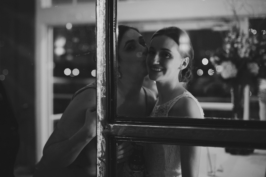 Bride and Maid of honor - Liberty House Wedding Photography - New Jersey wedding photography